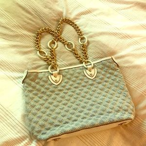 Marc Jacobs Quilted purse with gold chain